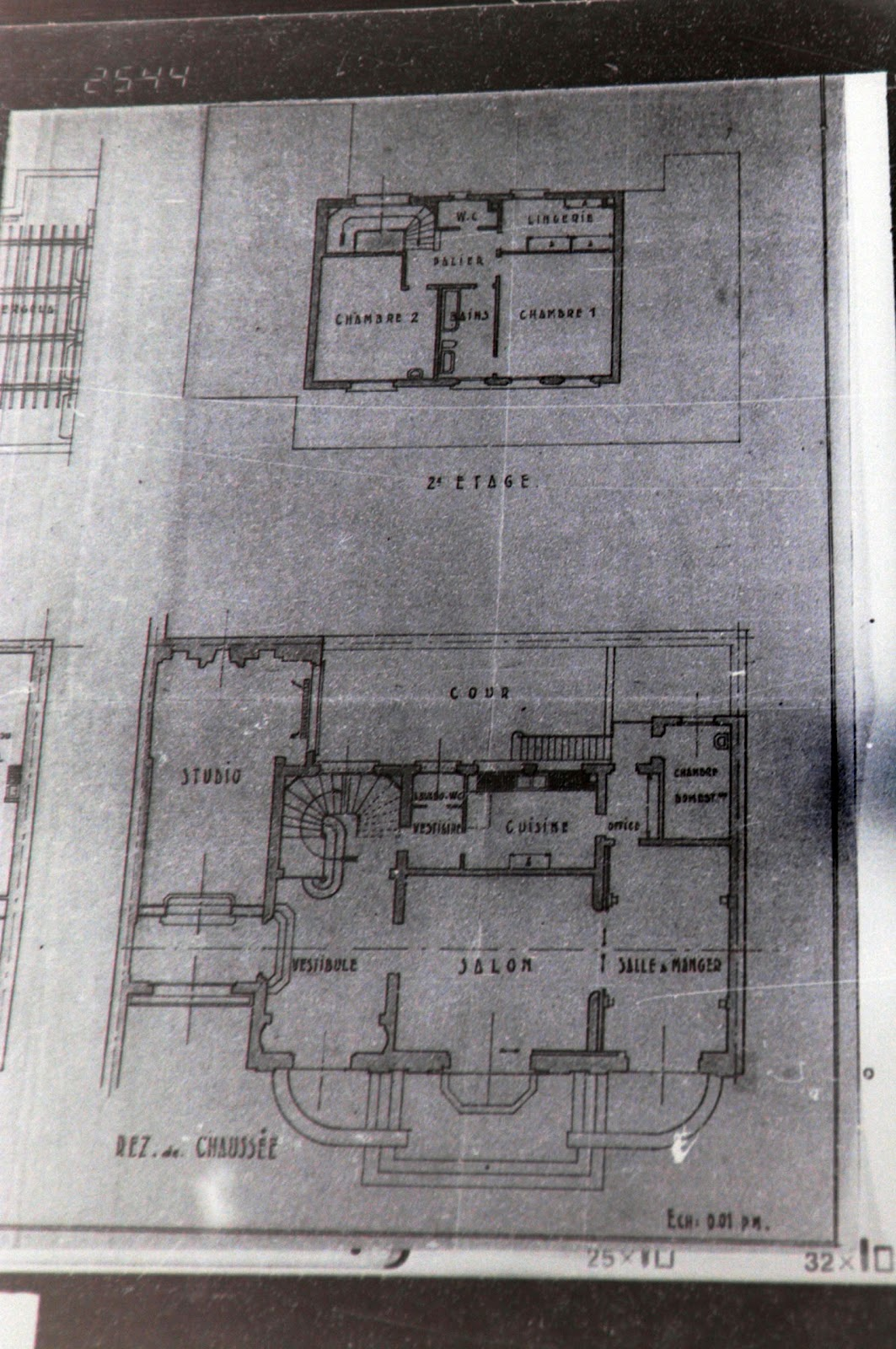 JJR blog posts Neuilly floor plans Family History Machine